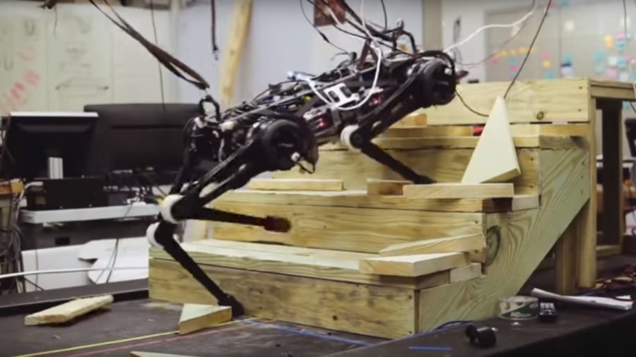 Blind robot dog can run, jump and climb in MIT's vision of the future (VIDEO)