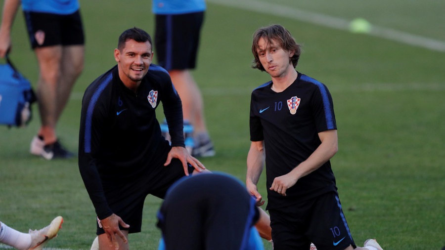 Croatian player addresses Ukrainians after knocking Russian Federation  out of World Cup