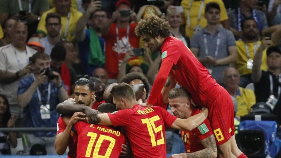 Brazil 1-2 Belgium: Brilliant Belgians sweep past Samba Boys to book World Cup semi-final spot - RT