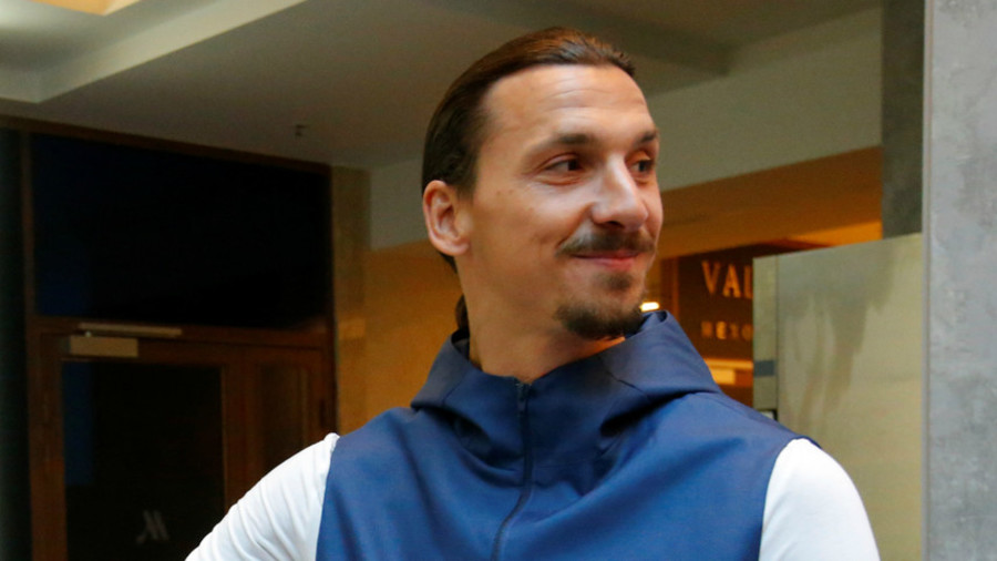 Ibrahimovic & Beckham make bizarre Twitter bet ahead of England-Sweden quarter-final