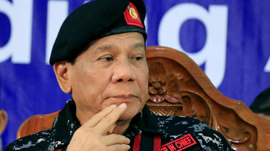 'Take a selfie with God and I'll resign,' says Duterte
