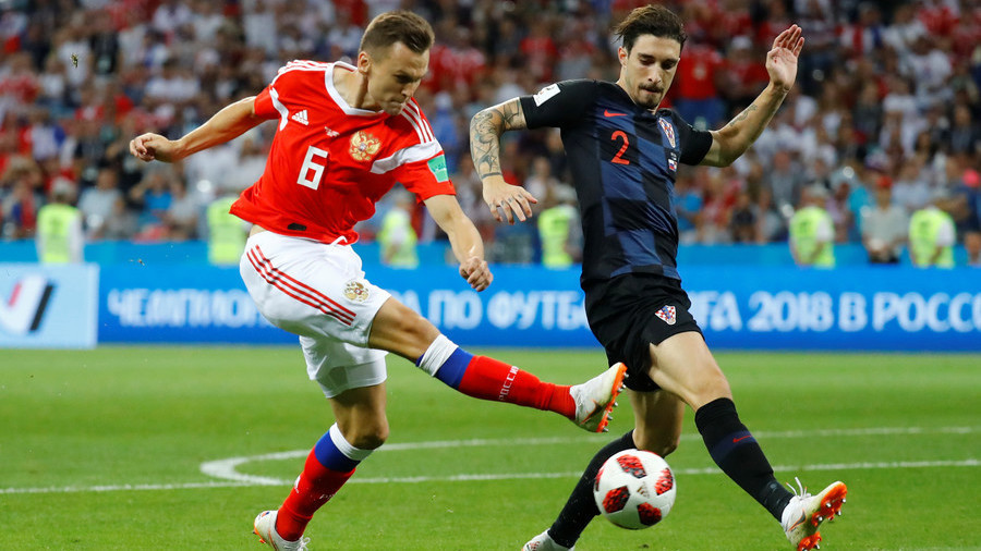 Croatia beat Russian Federation  on penalties to reach semis