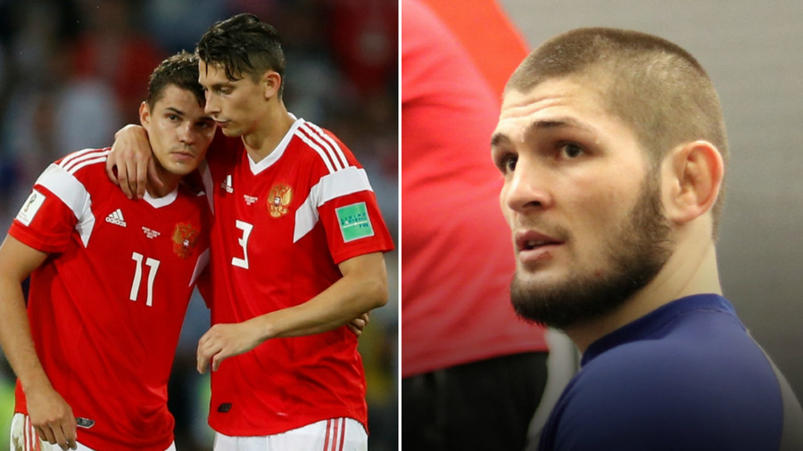 'It was a great journey': UFC champion Khabib Nurmagomedov praises Russia's heroic World Cup run