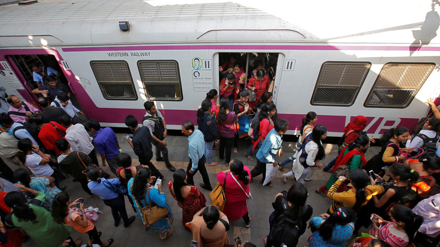 Train passenger helps rescue 26 girls from the 'child traffickers'… with just one tweet