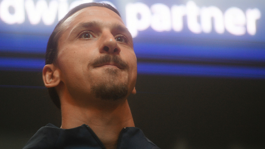 Ibrahimovic to don England jersey after losing Twitter bet to Beckham