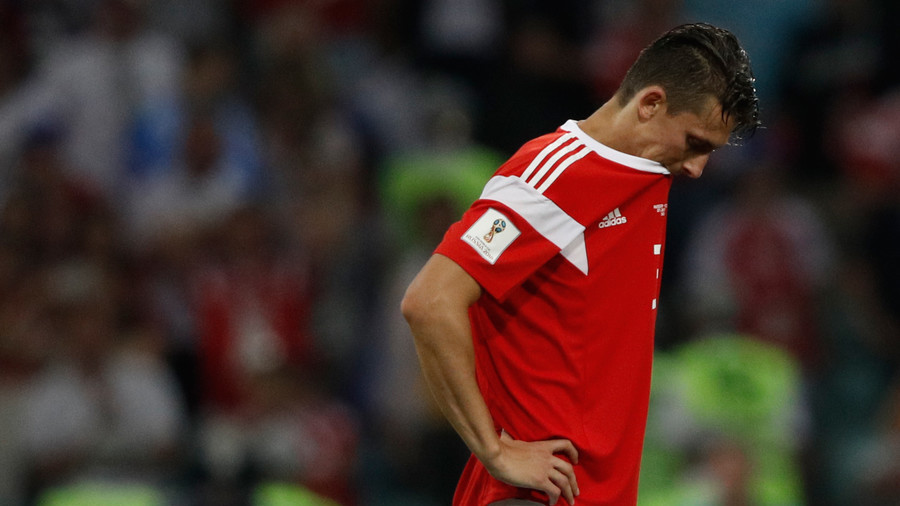 'And there was still 100 minutes to go in the game': Russia posts pic of defender's gruesome injury