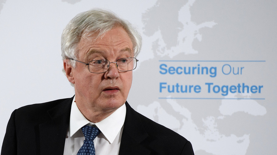 UK Brexit secretary David Davis resigns