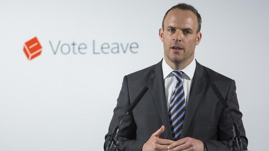'Absolute chaos': Brits poke fun at Davis' Brexit tenure as 'dinosaur' Raab steps in