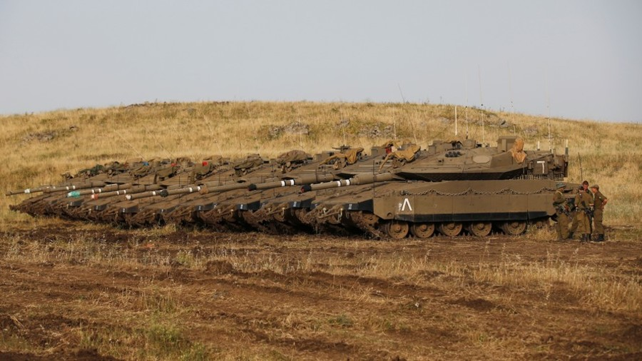Israel vows 'harsh response' if Syrian troops enter demilitarized zone on Golan Heights