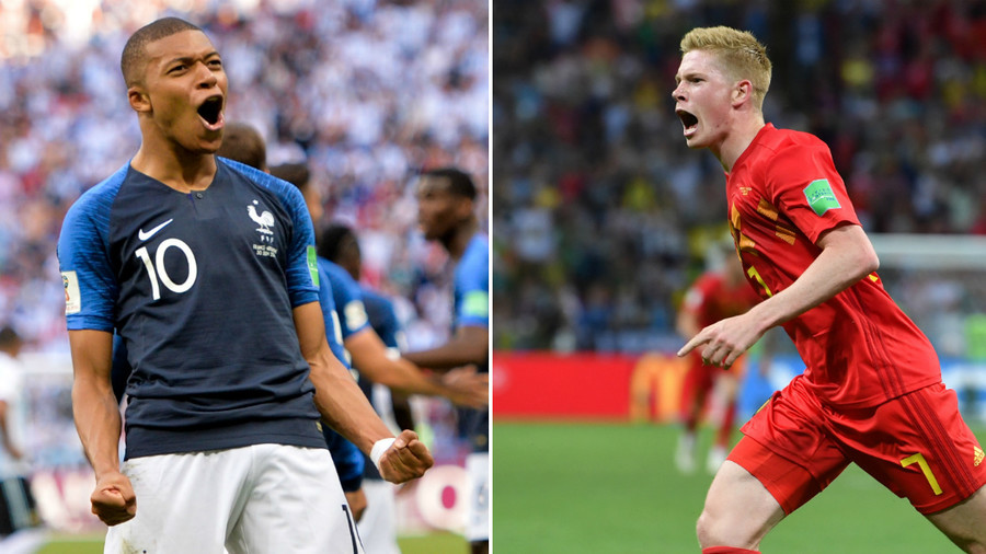 France v Belgium: 'Golden Generation' meet gilded French counterparts in World Cup semi-final