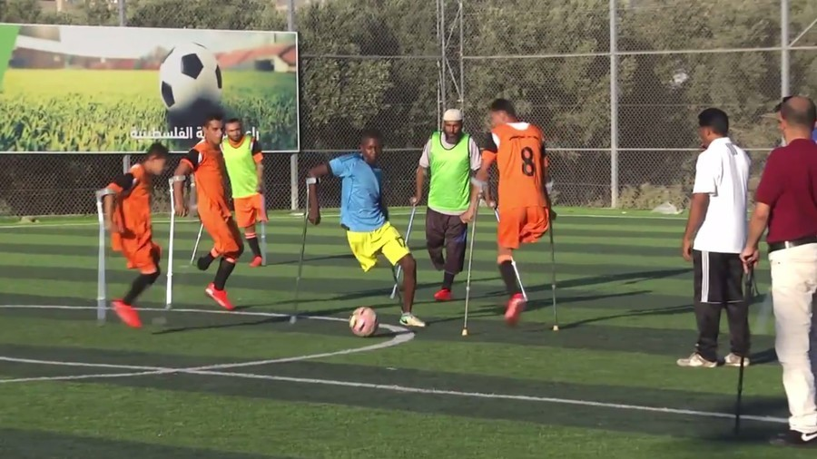 'We want to play for our country': Gaza amputee footballers aspire to reach the top (VIDEO)