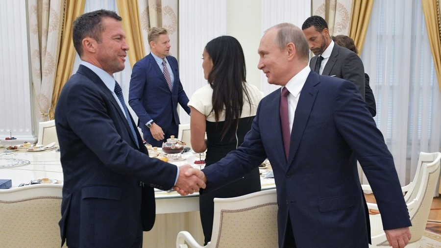 German tabloid brands football legend Matthaus Russian propaganda tool… for meeting Putin