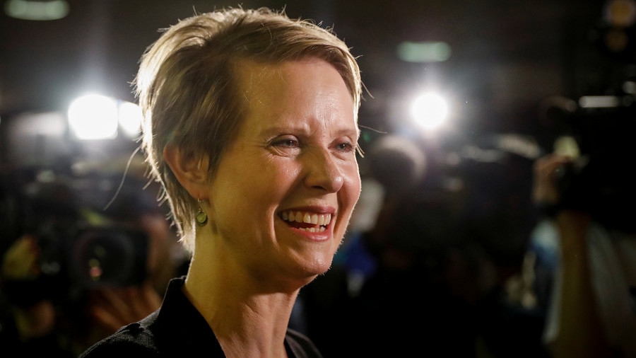 Actress and potential NY governor Cynthia Nixon launches petition to abolish ICE