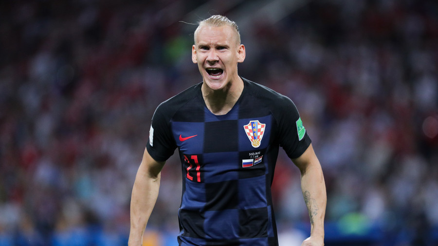 FIFA investigating 2nd video of Croatia's Vida appearing to shout 'Belgrade burn!'