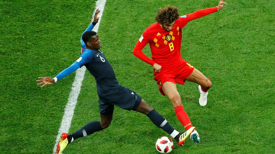 France 1-0 Belgium: Les Bleus book spot in World Cup final (AS IT HAPPENED)