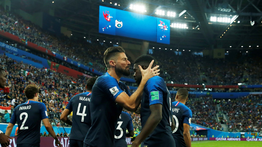 Steely France dispatch Belgium's golden generation to reach World Cup final