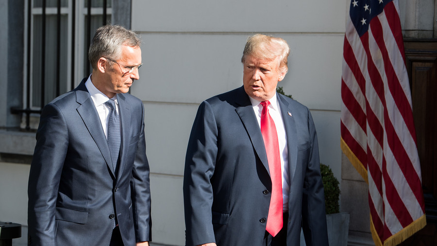 Trump confronts NATO paradox & European allies ahead of meeting with Putin