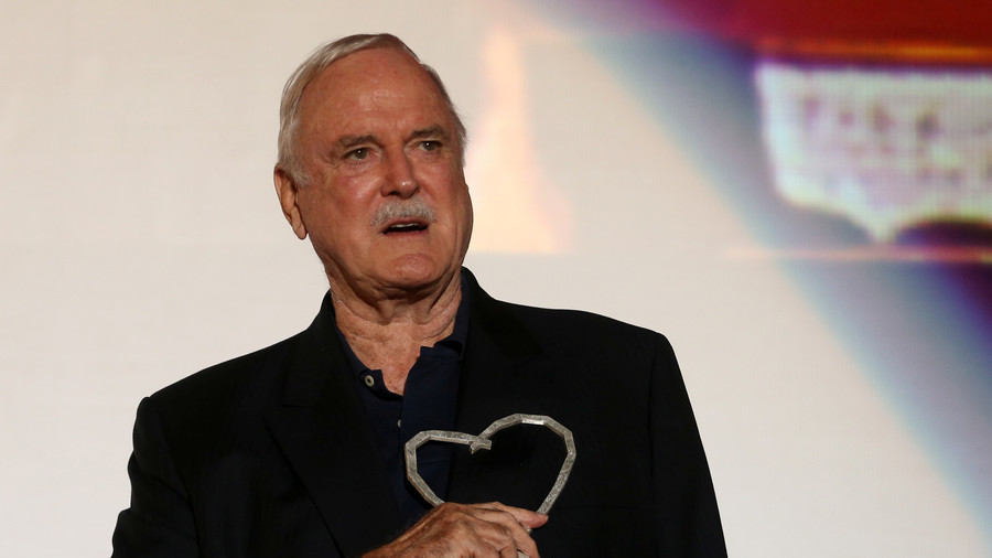 Monty Python's Cleese to leave UK due to British press - ranked bottom of EU trust league