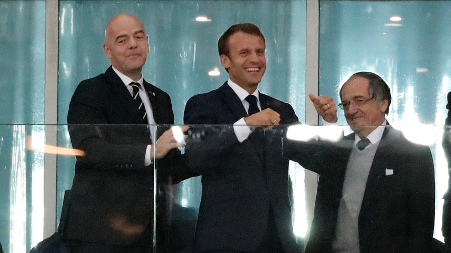 France's Macron will meet Putin at time of World Cup final - French official