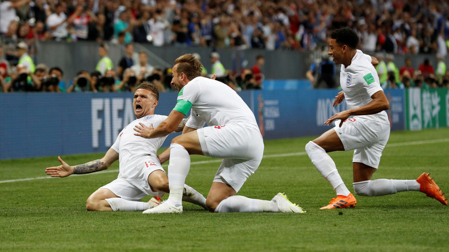Trippier strike smashes further England record in World Cup semi-final