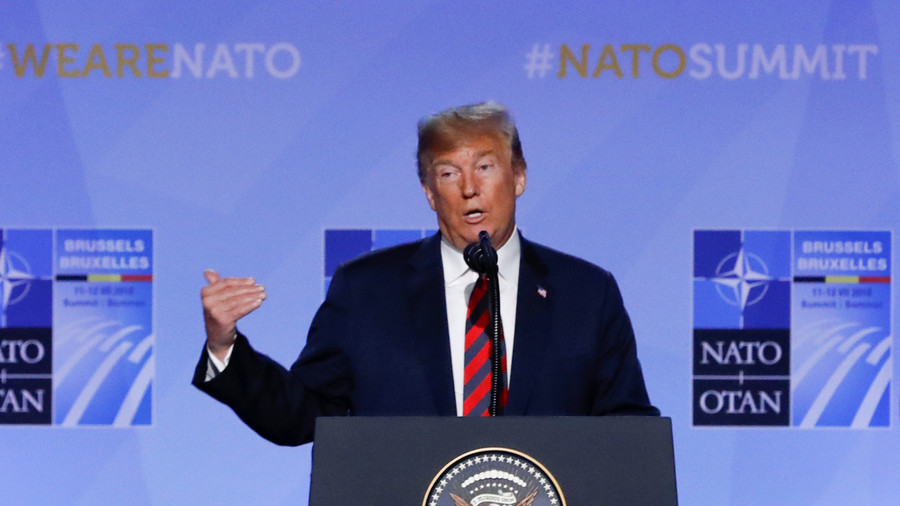 'Very consistent, stable genius': Trump says he won't change his mind on NATO spending