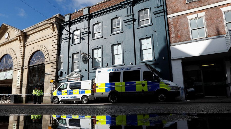 Police incident on Salisbury's Castle Street