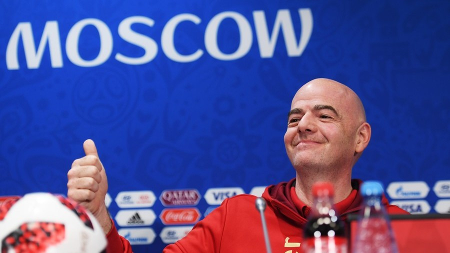 FIFA President Infantino hails Russia's World Cup as 'best ever'