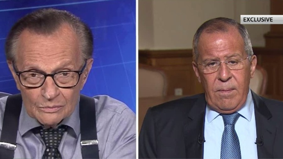 'Highly likely thing' becomes a rule in West's Russia policy – Lavrov on Larry King show