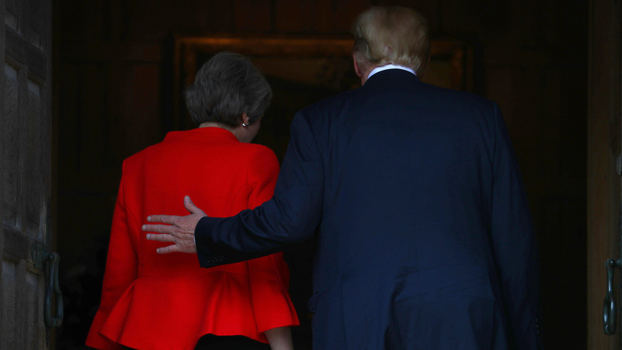 Trump arrives in the UK wielding a Brexit dagger, 'a true friend stabs you in the front'