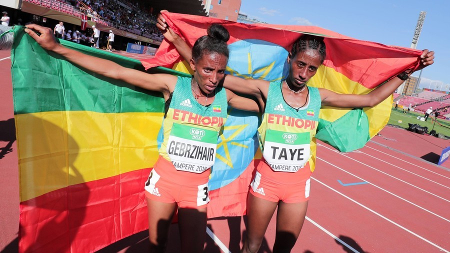 Ethiopian Runner Gebrzihair Mocked By Internet Users Claiming She Isnt  Year