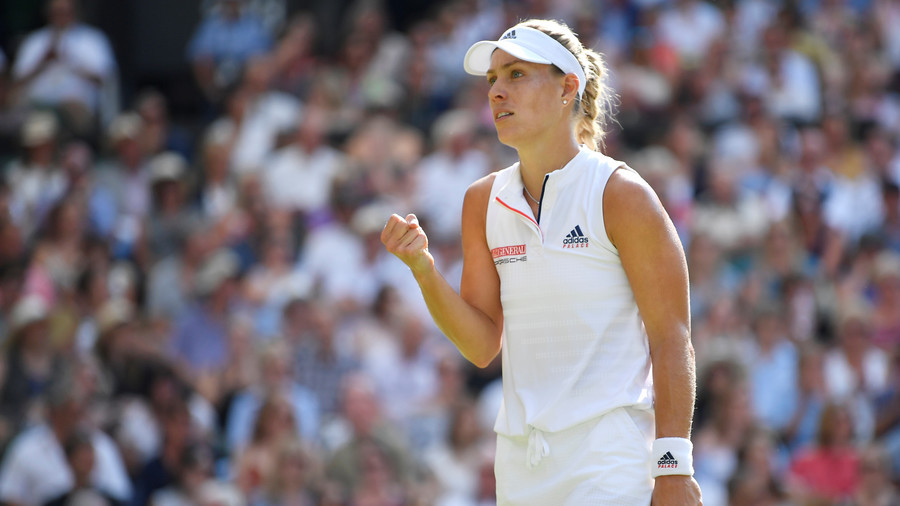 Kerber tops Williams at Wimbledon for third Grand Slam title