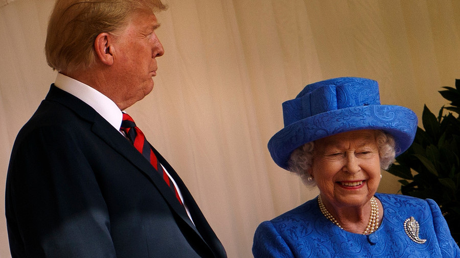 Queen Elizabeth II is a 'fantastic & amazing woman,' Trump says after UK trip