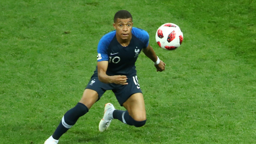 Kylian Mbappe becomes first teenager to score in a World Cup Final since Pele