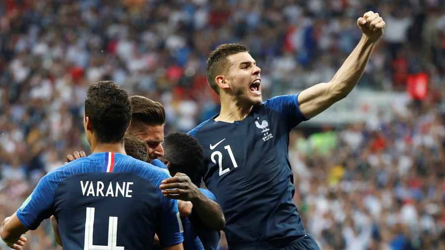 France 4-2 Croatia - Les Bleus ease past courageous Croatia to World Cup victory in Moscow