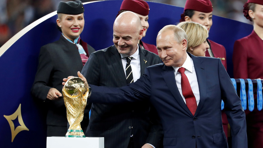 We did it! Proud of World Cup, Putin offers visa-free entry bonus to foreign fans