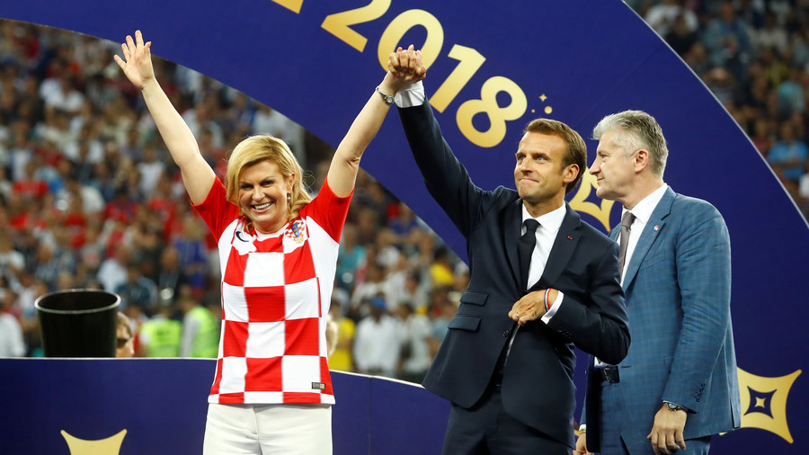 'We're on top of the world anyways': Croatia's president on FIFA World Cup final