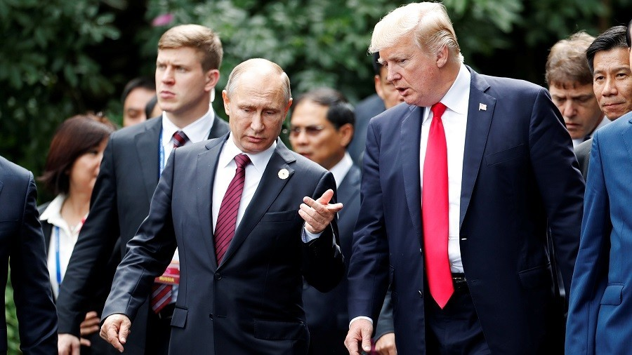 Donald Trump vows 'extraordinary relationship' with Vladimir Putin as summit opens