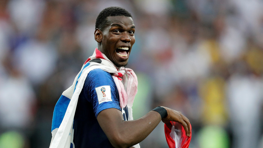 France's Pogba trolls England with 'It's Coming Home' line (VIDEO)