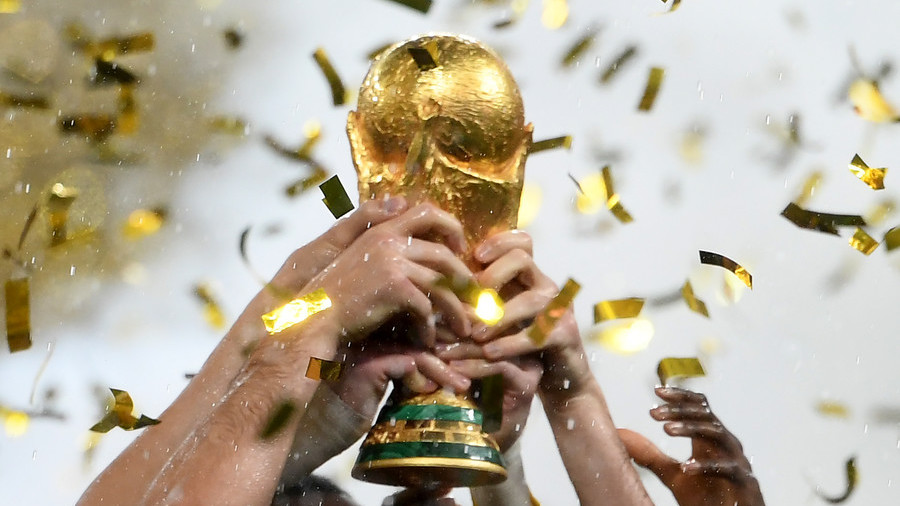 How much gold is in the FIFA World Cup Trophy?