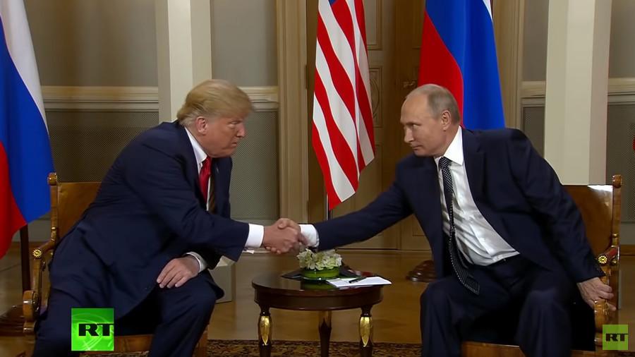 'Beautifully done': Trump congratulates Putin on 'great' World Cup (VIDEO)