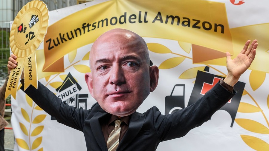 Amazon's Bezos becomes richest man in modern history with wealth topping $150bn