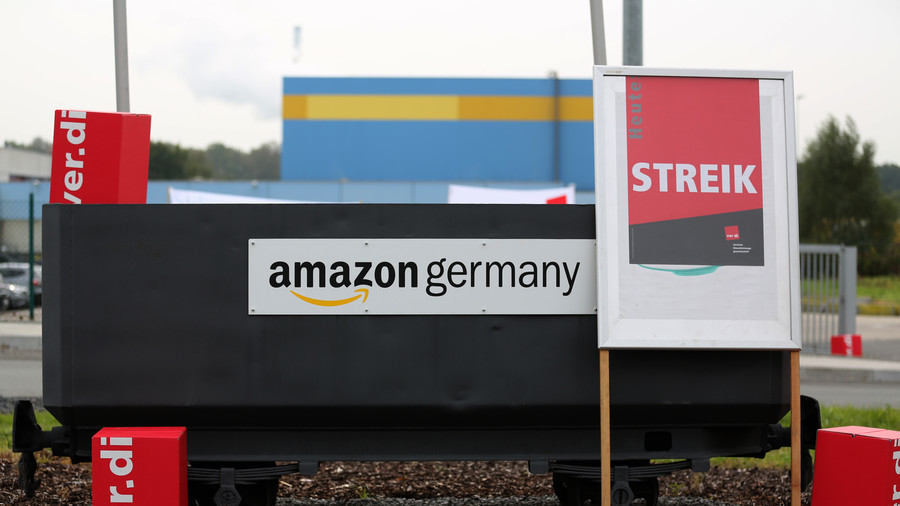 Prime target: Amazon Europe workers walk out during promotional period