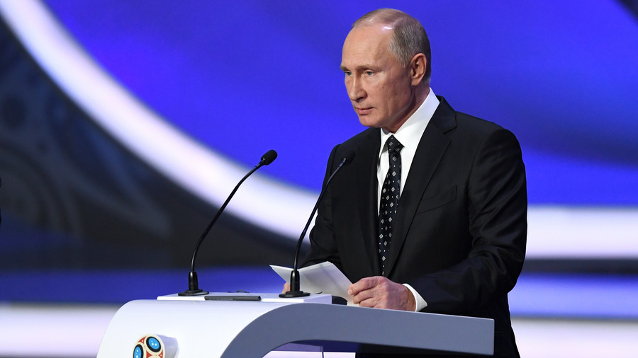 Putin suggests rolling out visa-free World Cup FAN ID concept to other events