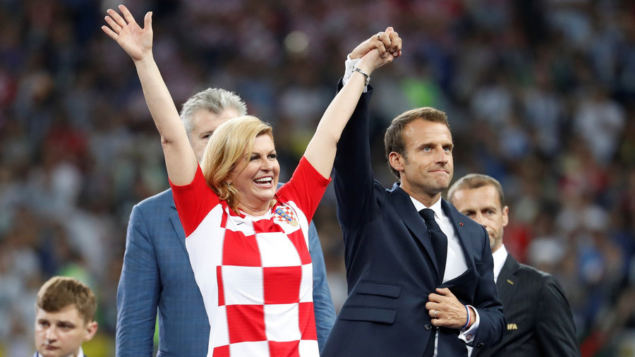 5 times Croatian President Grabar-Kitarovic won hearts at the World Cup (PHOTOS)