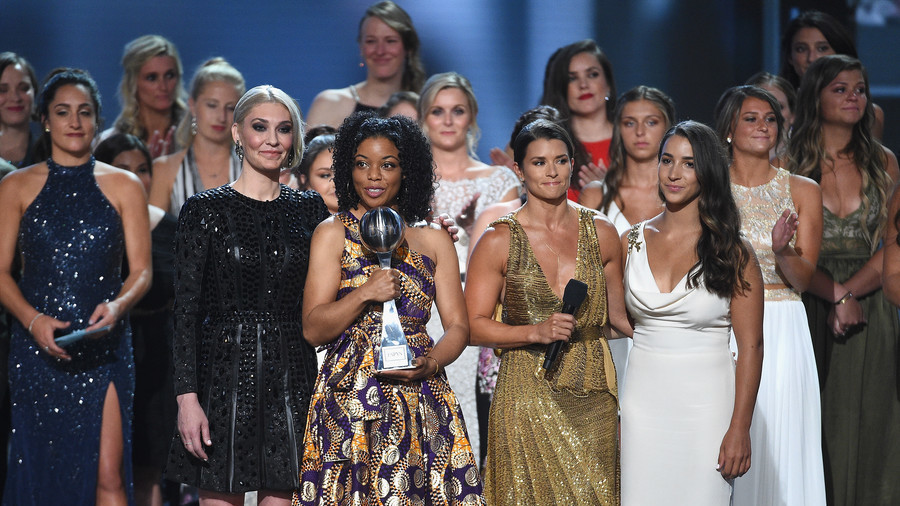 'Sister Survivors' of United States  gymnastics sexual abuse honoured in ESPY