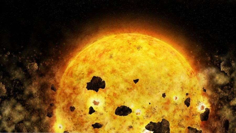 Planet-gobbling star observed by NASA for first time (VIDEO)