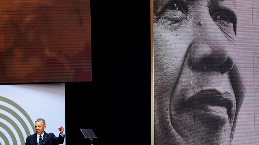 Nelson Mandela's legacy hijacked to help West sell liberal agenda