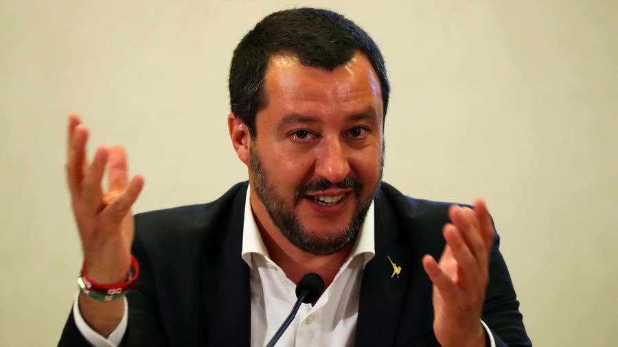 'People voted': Italian interior minister confronts journalist who called Crimea referendum 'fake'