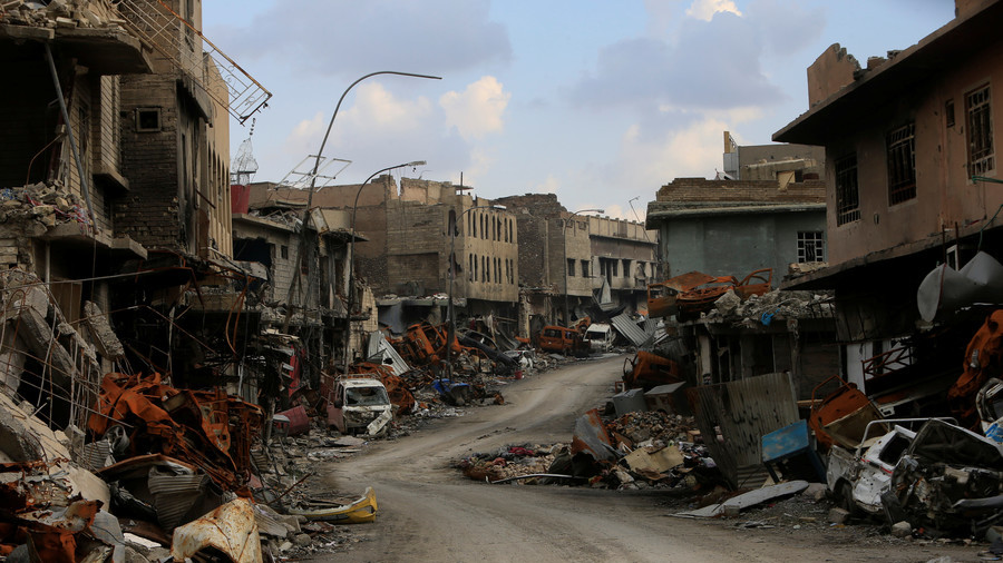1 year of liberation: Mosul people living among rubble & dead bodies while ISIS still around