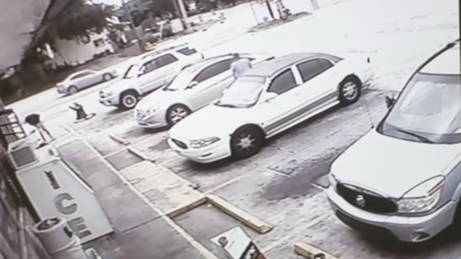 Video shows deadly shooting over parking spot